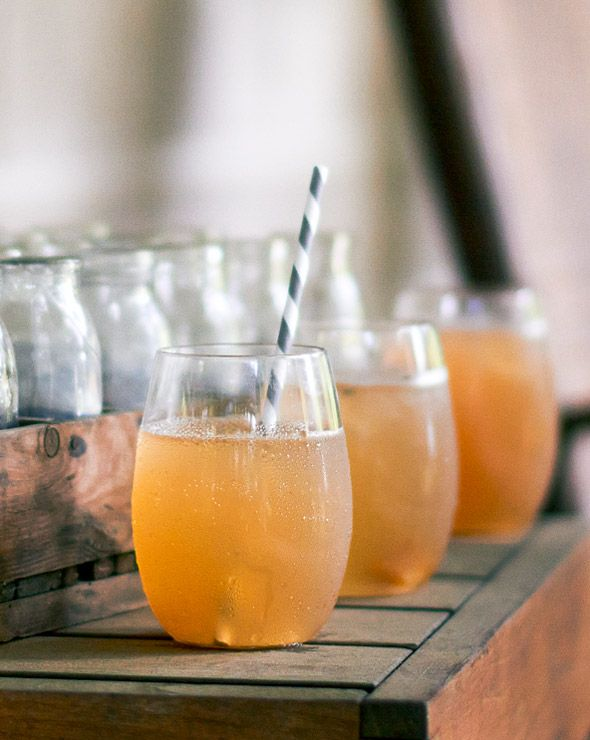 Sweet Tea Cocktail Recipe (Sweet tea. Whiskey. Lemon juice. Sounds like a recipe for a summer afternoon to us.)