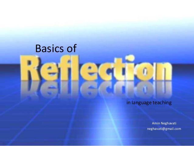 Basics of Amin Neghavati neghavati@gmail.com in language teaching