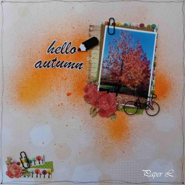Paper L: Foglie rosse e... ecco l'autunno