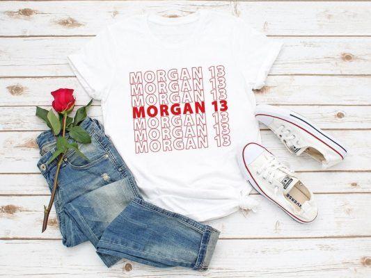 T Shirt Morgan 13 USA Womens Soccer T Shirt Alex Morgan France 2019 Shirt Alex Morgan 13 US Womens Futbal US Woman National Soccer Team