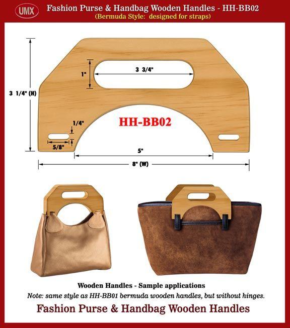handmade purse pictures | Fashion Bermuda Purse and Handbag Wooden Handle - Hand made Wood ...