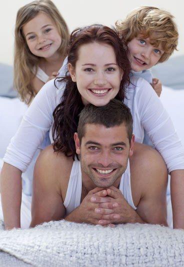Idéal de famille unie
