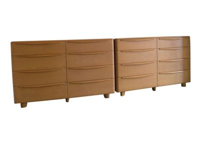 champagne encore double dressers by heywood wakefield
