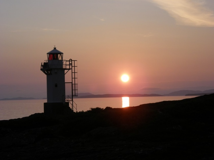 'Rhue Lighthouse near Ullapool' -     Tony Wright |  We stayed next door to this lighthouse so had many opportunities to take some memorable pictures