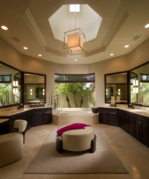These standard dimensions, layout tips and design Basics can help you think through a deluxe new master bath.
