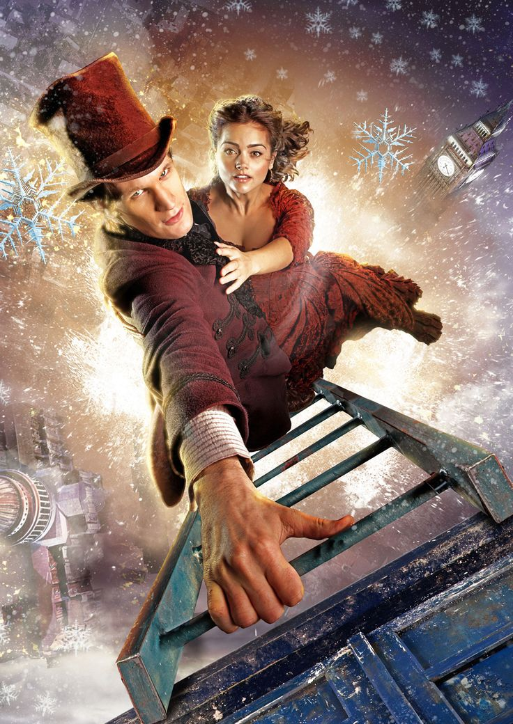 """Doctor Who """"The Snowmen"""" Official Poster Images 