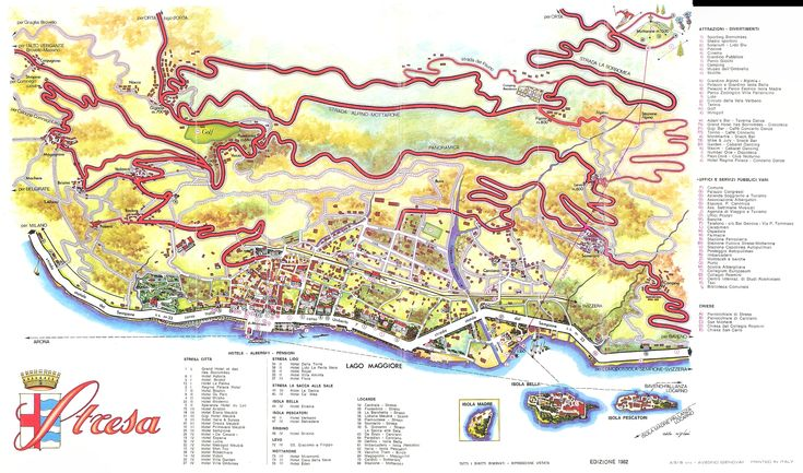 Stresa Map - stresa it • mappery