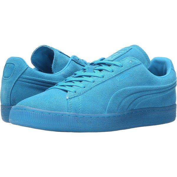 save off c7962 176e9 light blue puma shoes