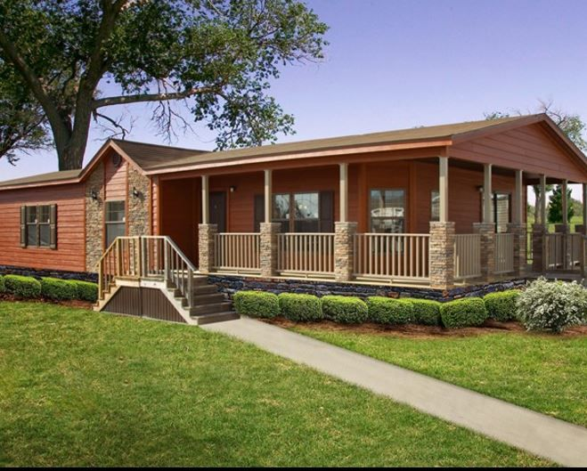 42 best manufactured home porches images on pinterest for Best made mobile homes