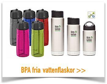 Bpa fria vattenflaskor