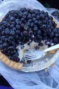 Blueberry Cream & Strawberry Rhubarb fromBriermere Farmsin Riverhead, New York.