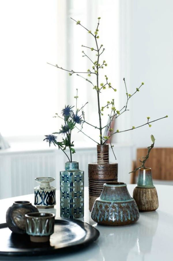 A Scandinavian Design Strategy for Beating the Winter Blues ~ETS #vases