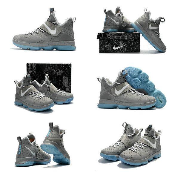 quality design e680c e4a16 New LeBron James Shoes April 2017 Nike LeBron 14 XIV MAG Matte Silver White  Glow