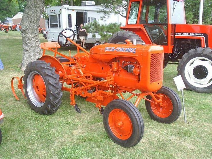Vintage Allis Chalmers Tractors : Best allis chalmers images on pinterest