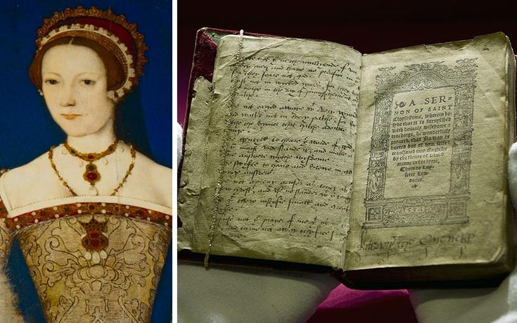 """A new exhibition about the life of Katherine Parr, Henry's sixth and final wife, reveals how she felt obliged to marry the king against her """"own will"""" and rekindled her romance with an old flame, possibly while Henry was still alive. Katherine's feelings for Sir Thomas Seymour, one of Henry's closest courtiers, are included in letters on public display for the first time at Sudeley Castle in Gloucestershire where she is buried."""
