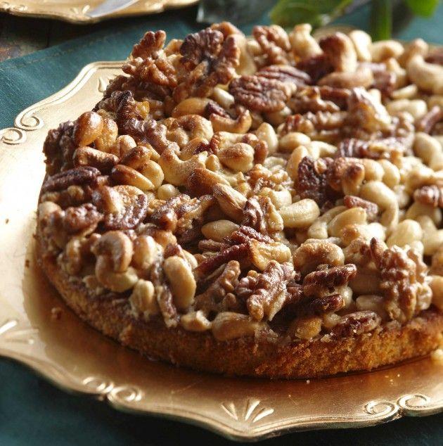 Pähkinä-toscakakku