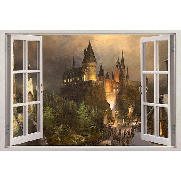 Best 25 harry potter wall art ideas on pinterest harry for Harry potter home decorations