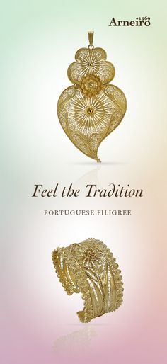 Portuguese Heart and Filigree Bracelet.  The beautiful choice for this Spring.