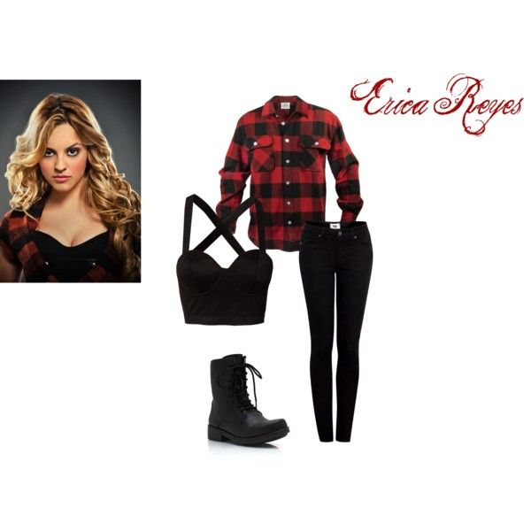 """Teen Wolf-Erica Reyes"" by kristynk on Polyvore"
