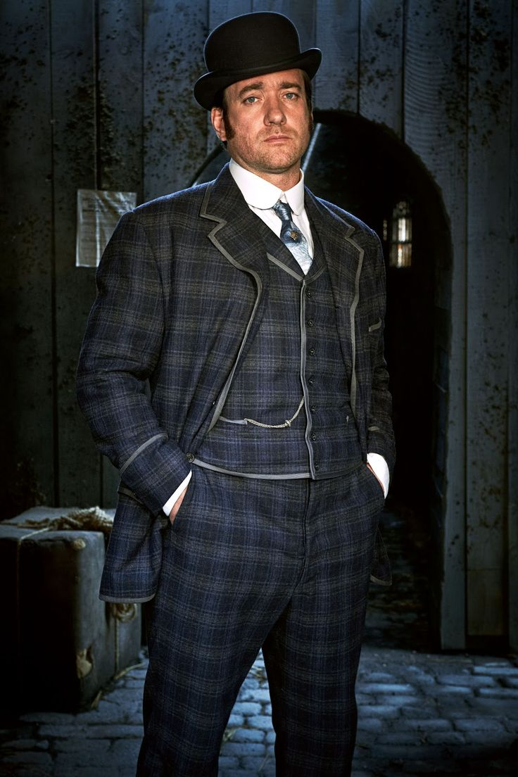 Matthew MacFadyen - Ripper Street. This is my new fave!..hmmmm mmmm Mr. Darcy. ;)