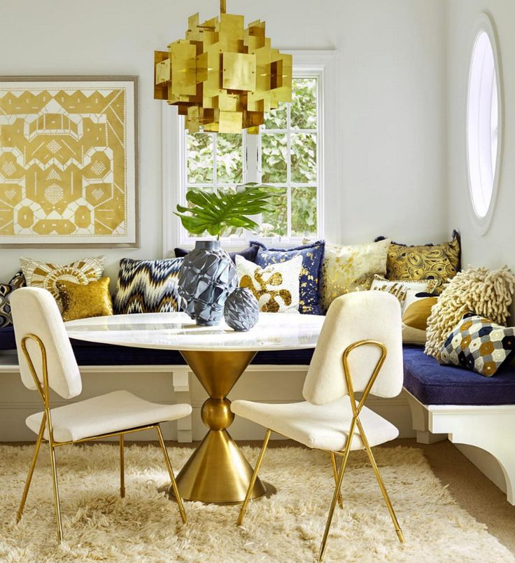 Gold Accents by Jonathan Adler  #interiordesigner #bestinteriordesigners #interiordesigninspiration home interior design, interior design ideas, interior decorating ideas Visit us at www.luxxu.net
