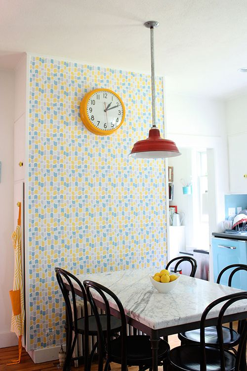 A Massachusetts Farmhouse Where Color and Pattern Meet via DesignSponge