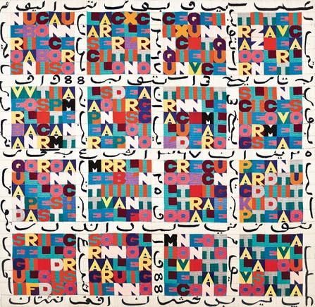 Boetti GamePlan #MOMA review by Giannina Mura, Art Actuel Magazine