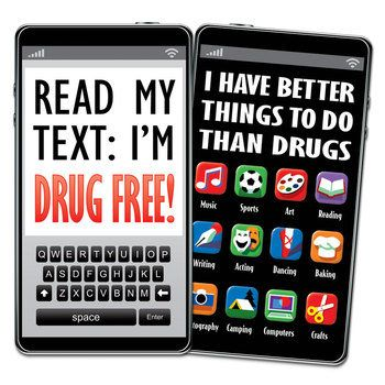 Read My Text I'm Drug Free! Bookmark * Save 10% with promo code PLEDGE10