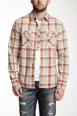 Triple Needle Workwear Shirt