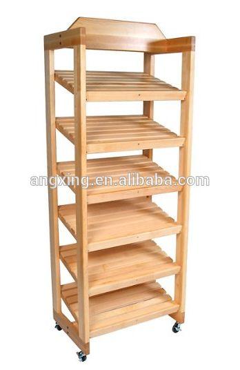 Oem e ODM pão de madeira exibir prateleira estante-imagem-Estantes expositoras-ID do produto:60272084704-portuguese.alibaba.com