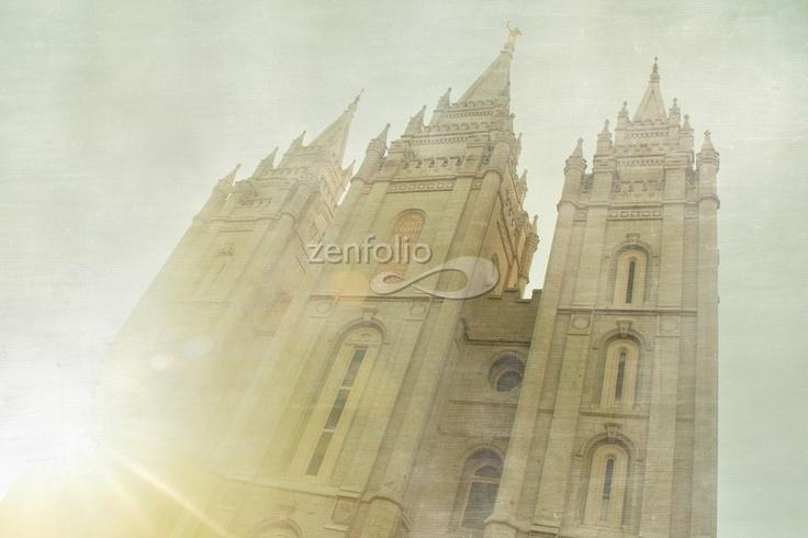 "Salt Lake Temple ""House of Light"""