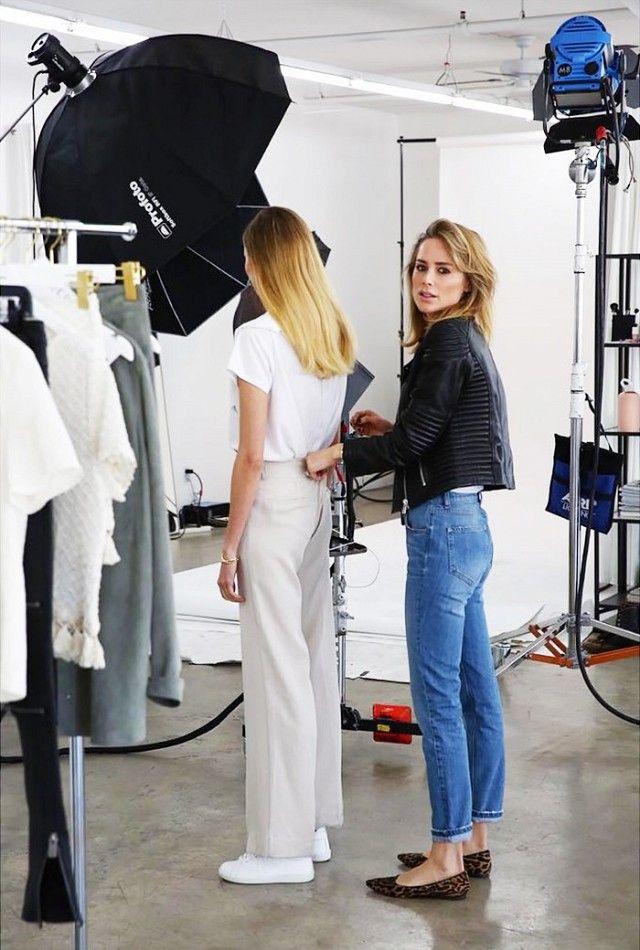 Follow Fashion Designer Anine Bing on Instagram for fashion inspiration.