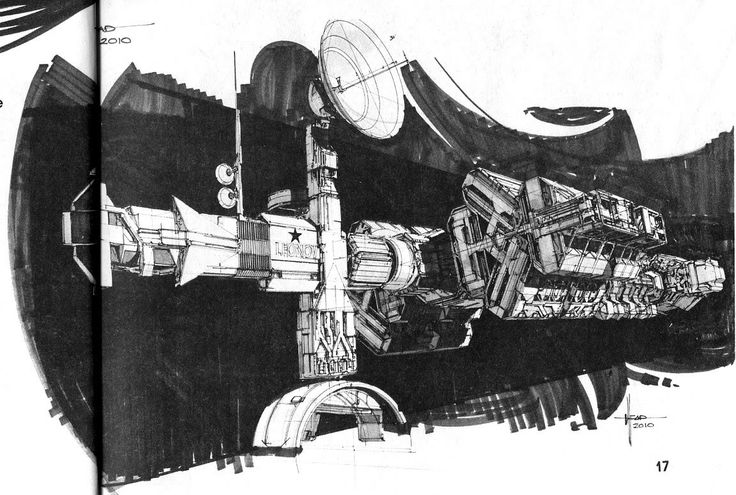 Rocketumblr | Syd Mead 2010: The Year We Make Contact Concept...