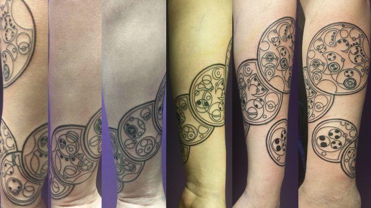 Tattoo by Bill Foulkrod at Deep Six Tattoos in Philadelphia (so delightfully nerdy)