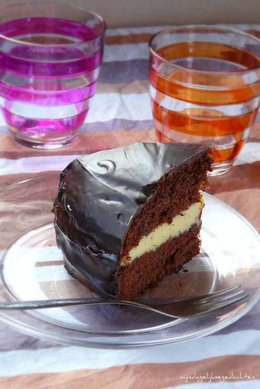 mijn dagelijkse gedachten: Chocolate and Milk Cake/Шоколадно-Молочный Торт