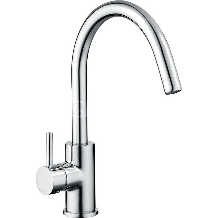 Sagittarius Ergo Lever Side Lever Tall Basin Taps in Chrome Plated Plated