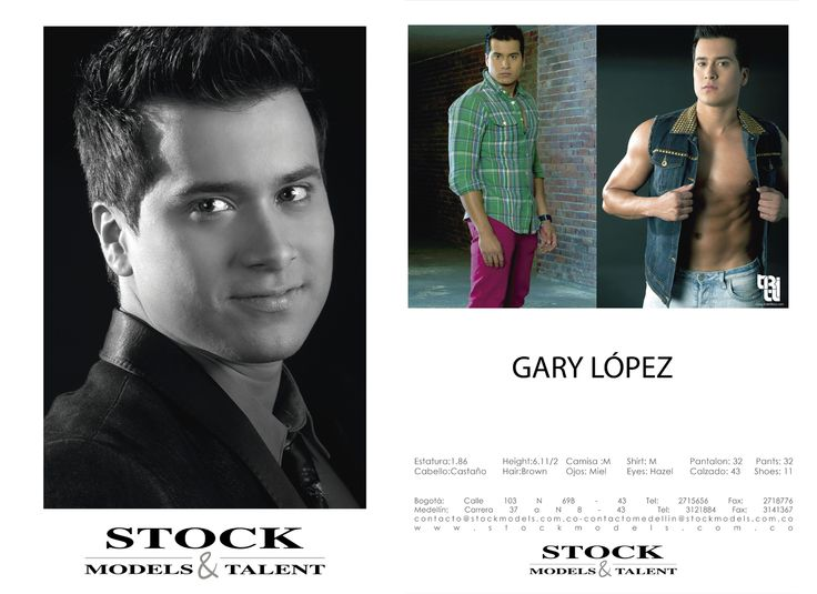 Gary López - Modelo Stock Models -