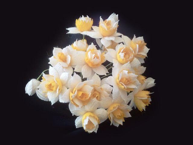 İpek Kozasından Nergis Sipariş vermek için: www.ipekelsanatlari.com - info@ipekelsanatlari.com  Daffodil/Narcissus made of silk cocoon Buy it Online! www.ipekelsanatlari.com - info@ipekelsanatlari.com - WhatsApp: 05363642162  #ipek #koza #cicek #beyaz #nergis #ipekbocegi #ceyiz #aksesuar #moda #evmoda #koleksiyon #tasarim #silk #narcissus #daffodil #white #cocoon #handmade #crafts #doityourself #diycrafts #design #flower #fashion #accessories #decoration #homefashion #ipekelsanatlari
