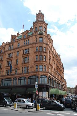 Famed as a luxury shopping destination for the rich and famous, Harrods on Brompton Road in Knightsbridge takes its name from founder Charles Henry Harrod. Harrod first established a drapery busine…
