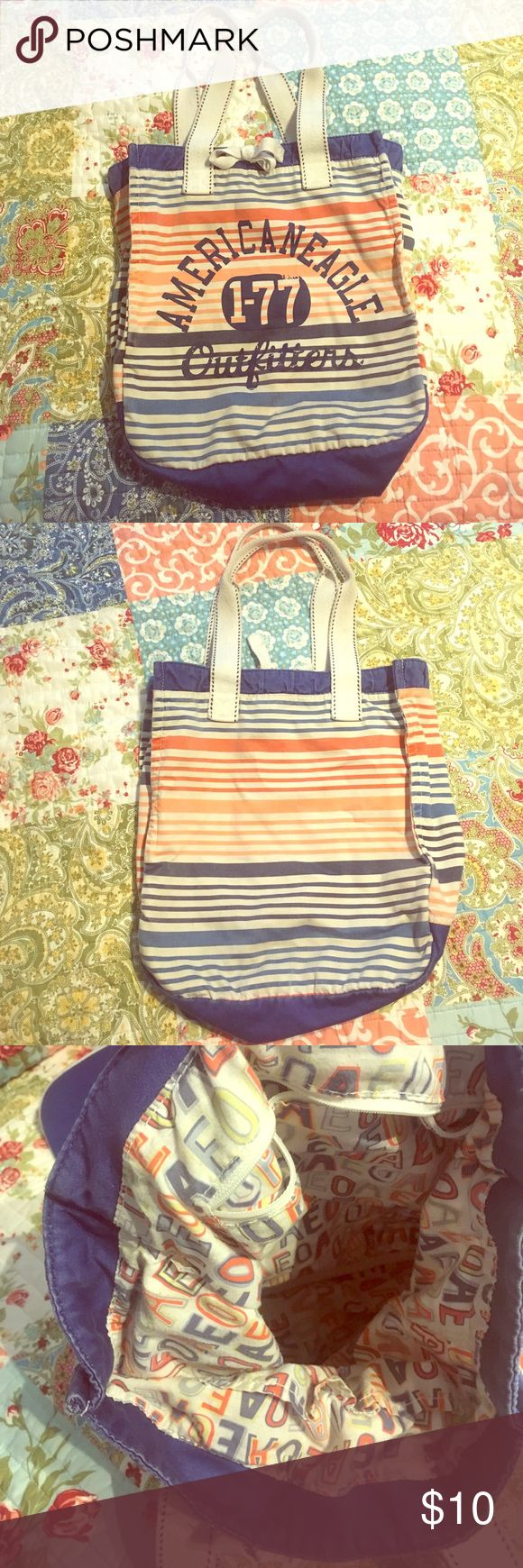 Selling this American Eagle Tote on Poshmark! My username is: emmic17. #shopmycloset #poshmark #fashion #shopping #style #forsale #American Eagle Outfitters #Handbags