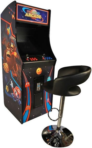 100% BRAND NEW! Enjoy all the arcade classics on this beautiful upright arcade! With this home arcade, you'll love playing the authentic side-by-side style o...