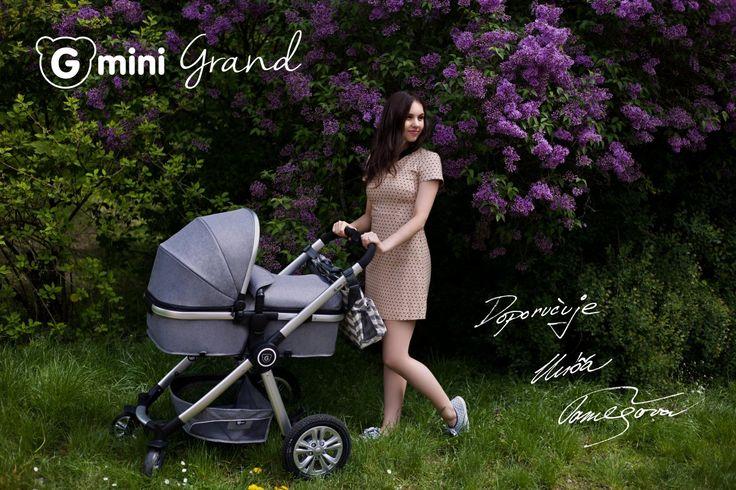GMINI Kočár kombinovaný Grand Marine -zlatá   Kašpárek Baby