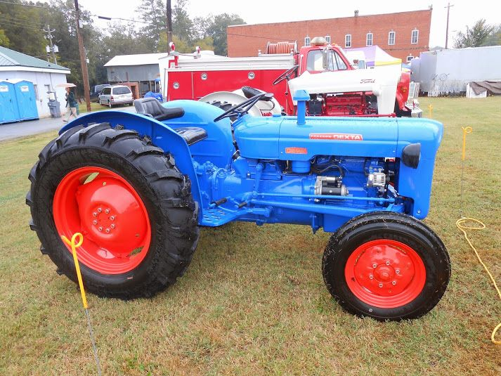 Old Ford Diesel Tractors : Images about ford tractors on pinterest old