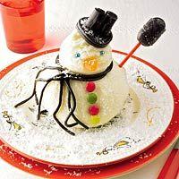 Vanille sneeuwpop