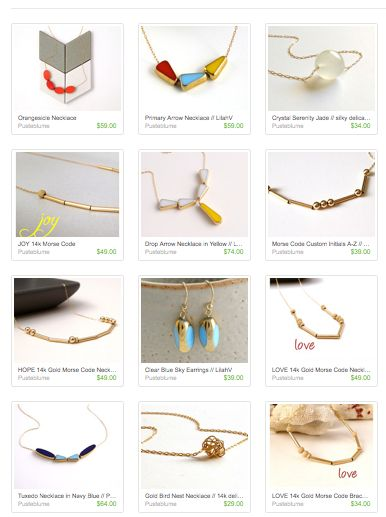 Many Examples Jewelry Line Sheet   Google Search