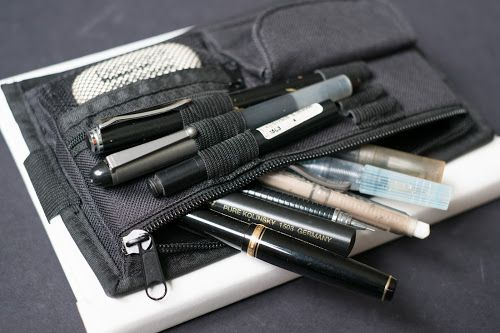 Review: Accurasee Art Pencil Case, Bag, Pouch for Artist Sketchbooks | Parka Blogs