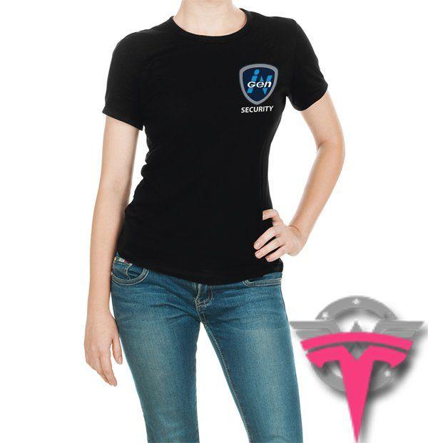 InGen+Corporation+Security+Isla+Nublar+Jurassic+Park+World+Movie+Women's+T-Shirt