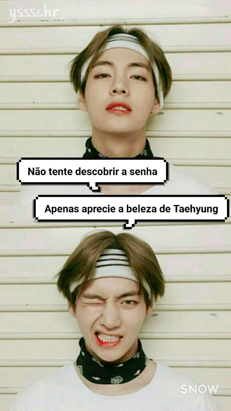 Tela de bloqueio Taehyung BTS by me ❤