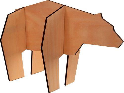 Figurka puzzle Niedźwiedź - Obrazy i rzeźby - Artykuły Dekoracyjne - Meble VOX