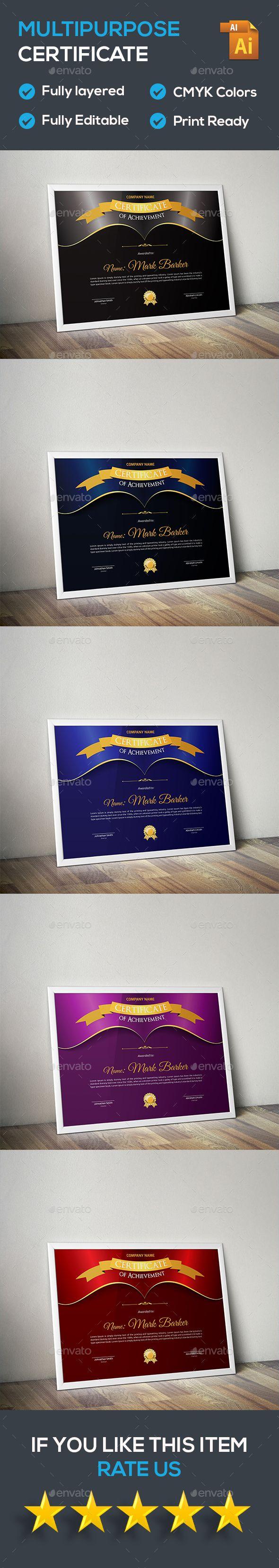 The 25 best graduation certificate template ideas on pinterest certificate certificate templatescertificate designinfographic templatesepsfont yadclub Gallery